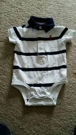Ralph Lauren T Shirt/vest 3 months