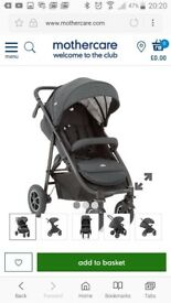 BRAND NEW SEALED IN THE BOX JOIE MYTRAX PUSHCHAIR 150 ONO