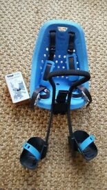 'Yepp mini ahead' baby or toddler bike seat (front mounted) plus adapter