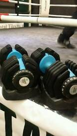 Selectable Dumbells