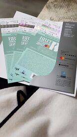 Brit Awards Tickets with After Party Pass