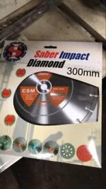 Diamond impact csm blades £20 each