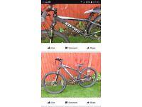 Stolen black carrea vengeance 16in bike