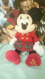 Disney 2016 Minnie mouse plush soft toy