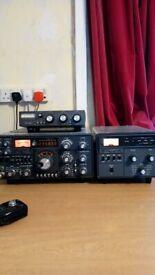 HF Tranciever With Matching VHF Transverter