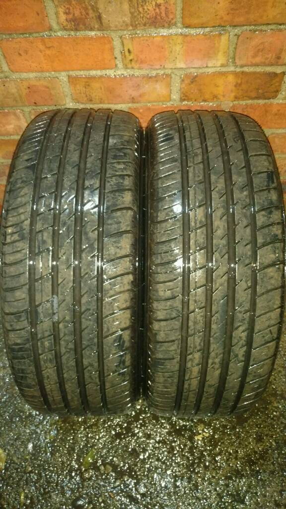 2 X 205 50 R17 BOTO TYRES , 8 MM TREAD DEPTH , 1 YEAR OLD , EXCELLENT CONDITION