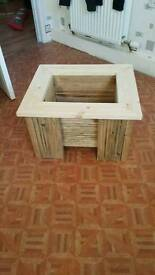 Decking planter box