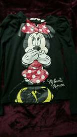 Minnie Mouse Full sleeve Girl's top