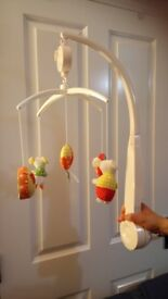 Mammas and Pappas musical cot mobile - excellent condition