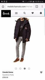 Brand new with tags mens canada goose coat