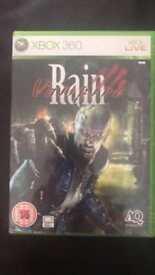 Vampire rain Xbox 360 game