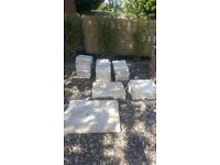 Selection paving stones