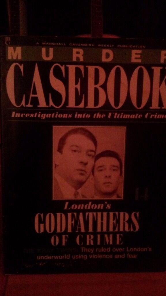 Complete set of marshall cavendish -murder casebook weekly magazine-150.