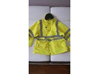 Gents yellow Hi Viz jacket
