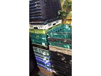Joblot job lot forty bale bar heavy duty stack nest plastic resin crates