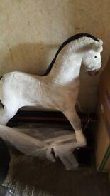 Large grey Rocking horse