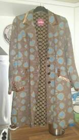 Stunning 'Nomads' ladies coat. Size L (14 - 16).