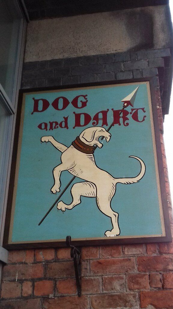 Pub Sign - DOG and DART | in Ellesmere Port, Cheshire | Gumtree