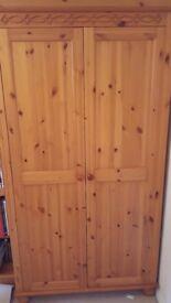 Pine Wardrobe very good condition
