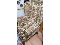 Wingback armchair - free