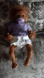 jojo lifelike baby monkey
