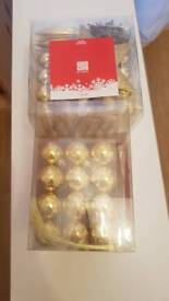 CHRISTMAS BAUBLES BRAND NEW