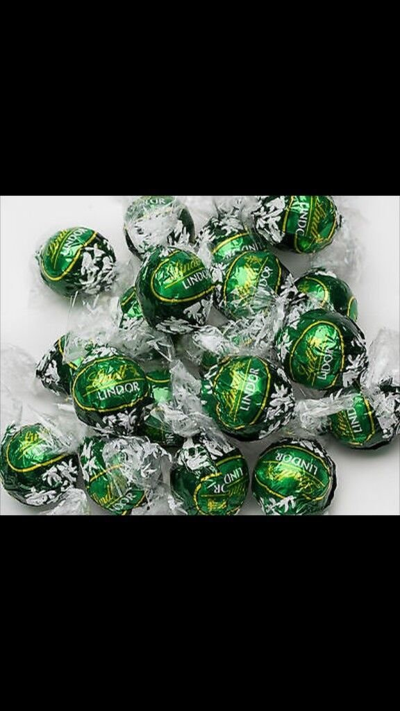 RARE LINDT MINT TRUFFLES x 50 perfect for weddings!