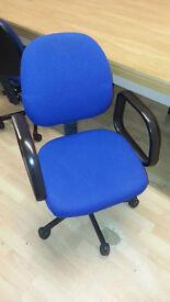 Office computer swivel chair - Blue