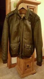 Aviation Leathercraft USAAF A2 Pilots Jacket