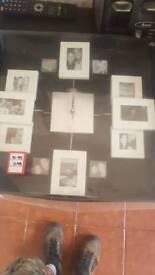 Wall clock for photos