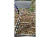 full length van roof rack and ladder £100