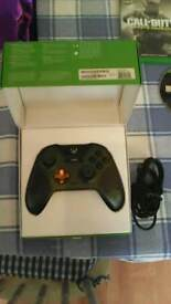 Xbox one halo pad, and 3 games