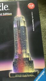 Empire State Building 3D Jigsaw