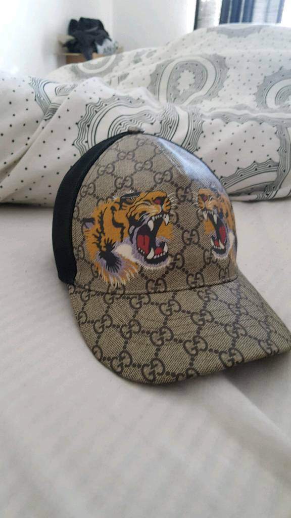 Gucci tiger hat  ab35ded979b