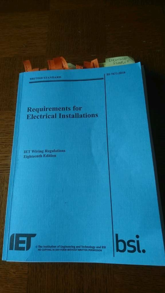 Marvelous Bs 7671 2018 Iet Wiring Regulations 18 Th Edition In Paignton Wiring Cloud Brecesaoduqqnet
