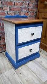*REDUCED* Nautical Style Bedside Cabinet