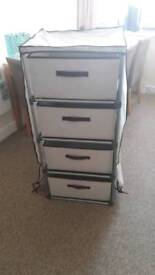 4 draw storage unit