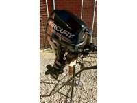 Mercury 9.9 4 stroke outboard engine