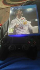 Ps4 with all wires, controller and fifa 18 £120 if gone today