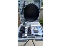 Portable satellite Receiver