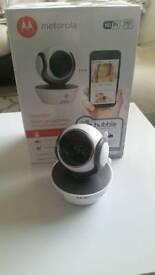 Motorola WiFi video baby monitor