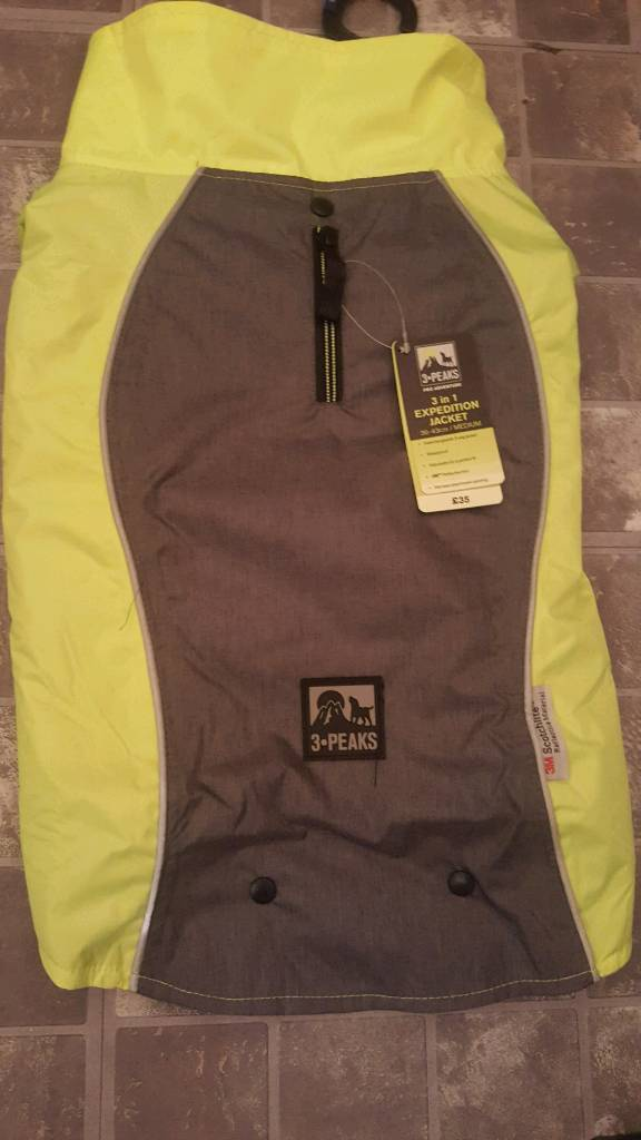 Xl 3 In 1 3 Peaks Expedition Jacket Dog Coat In Newcastle Tyne