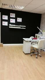Space in beauty salon