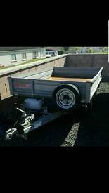 Electric tipper 8 by 6 great trailer fully galvanised