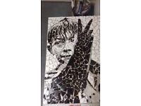 Kes mosaic