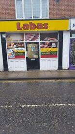 Off licence east european shop