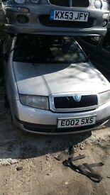 SKODA FABIA CLASSIC 16V AUTO 2002- FOR PARTS ONLY