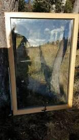 Solid Oak Double glazed windows