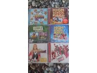 Disney CD Collection. High school musical, camp rock and Hannah Montana