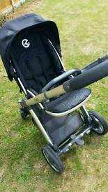 Oyster Pushchair, Carrycot & Accessories